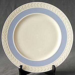 Vintage Lenox Plate With Laurel And Blue Band