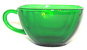 Forest Green Fire King Charm Square Cups & Bowls