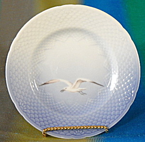 Bing & Grondahl Seagull Bread Plate Set Of 8