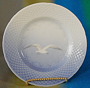 Bing & Grondahl Seagull Bread Plate Set Of 4