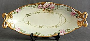 Vintage Alice Bavaria Hand Painted Rose Dish