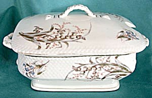 Vintage Flower Large Covered Casserole (Image1)