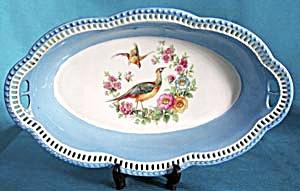 Vintage Schumann Pheasant Pierced Bowl (Image1)
