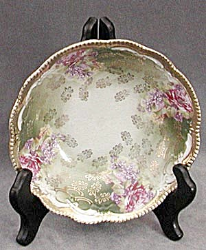 Vintage Small Hand Painted Rose Dish (Image1)