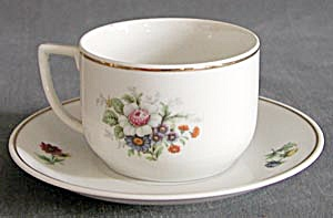 Vintage Seltmann West German China Cup & Saucer