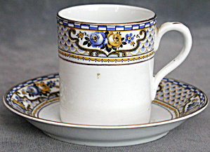 Vintage Bone China Demi Cup & Saucer