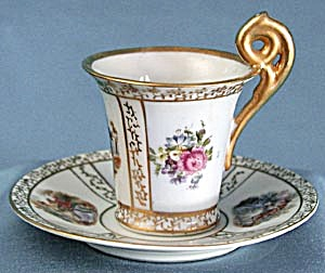Vintage Occupied Japan Cup & Saucer (Image1)