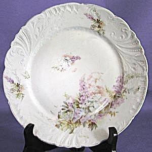 Vintage Embossed Floral Design Plate (Image1)