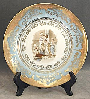 Vintage Austrian Hand Painted Plate (Image1)