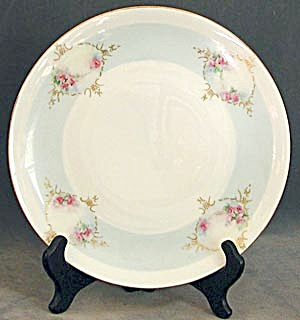 Vintage Hand Painted Rose Plate (Image1)