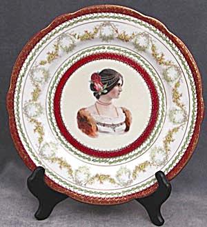 """Vintage Imperial Austria """"Juliet"""" Plate (Image1)"""