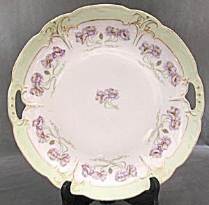 Vintage Art Nouveau Lavender Poppy Tray (Image1)