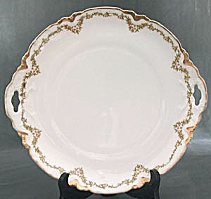 Antique Hapsburg M. Z. Austria Garland Tray