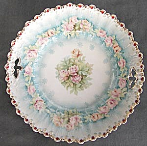 Vintage Confetti and Roses Serving Plate (Image1)