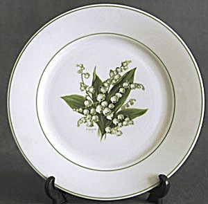 Vintage Lily Of The Valley Plate