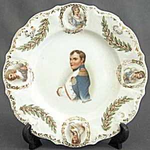 Vintage German Napoleon Plate (Image1)