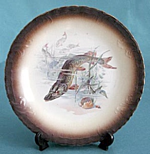 Vintage Warwick Fish Plates Set of 2 Differnt (Image1)