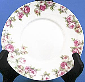 Haviland Limoges Gda Rose Plates Set Of 5