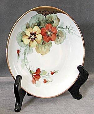 Vintage Hutschenreuther Hand Painted Nasturtium Plate (Image1)