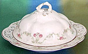 Vintage Johnson Brothers Covered Butter Dish (Image1)