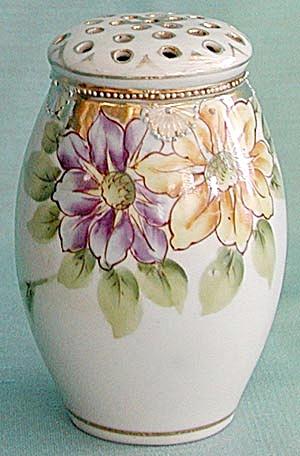 Vintage Nippon Hand Painted  Sugar Shaker or Muffineer (Image1)
