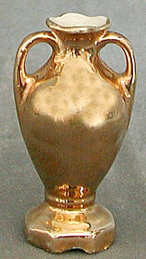 Vintage Mini Gold Wash Vase (Image1)