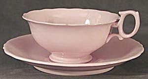 Vintage Pink Wedgwood Cup & Saucer (Image1)