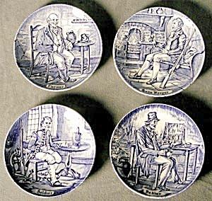 Wedgwood Blue & White Plates (Image1)