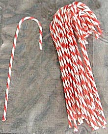 Mini Candy Canes Christmas Ornaments (Image1)