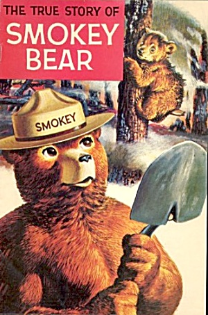Vintage True Story Of Smokey Bear