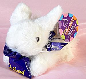 Cadbury White Bunny Plush with Clucking Sound (Image1)