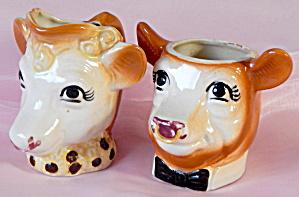 Borden's Elsie & Elmer Creamer & Sugar (Image1)