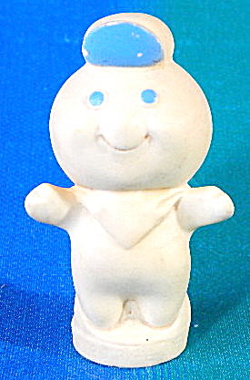 Vintage Pillsbury Doughboy Popper Finger Puppet