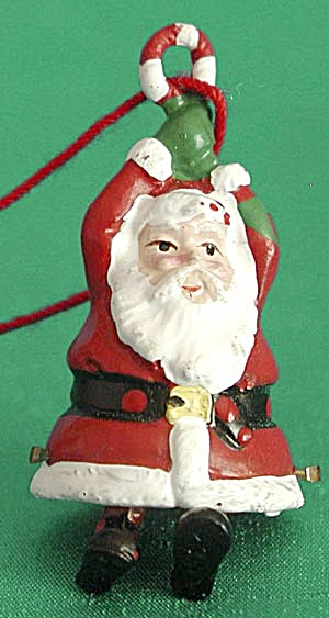 Pewter Santa Christmas Ornament (Image1)