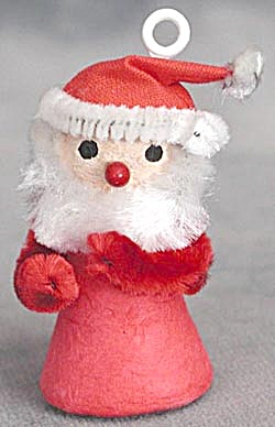 Cotton Batting Santa Ornament (Image1)