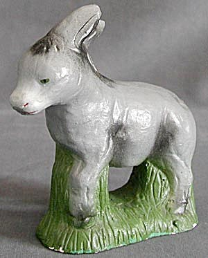 Vintage Nativity Donkey Figurine Milwaukee U.S.A. (Image1)