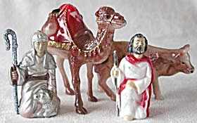 Vintage Nativity Plastic Camel Ox and Others (Image1)