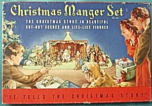 Vintage Christmas Manger Set (Image1)