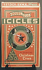 Vintage Doubl-glo Tinsel Icicles Original Box