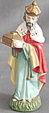 Vintage Nativity Figure Of A Wise Man