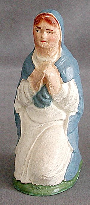 Vintage 11 Nativity Figurines (Image1)