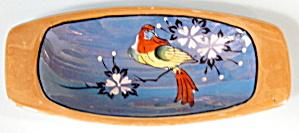 Vintage Luster Parrot Bowl