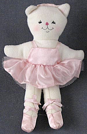 Vintage Ballerina Kitten / Cat Ornament  (Image1)