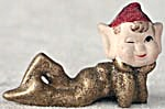 Vintage Elf Christmas Ornament (Image1)