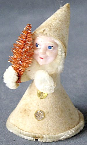 Vintage Elf Christmas Figurine