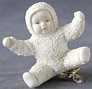 Retired Dept 56 Snowbabies:angel Clip