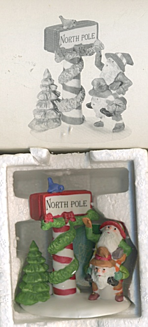 Dept 56 Trimming The North Pole