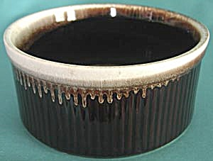 Pfaltzgraff Brown Drip Design on Edge Souffle (Image1)