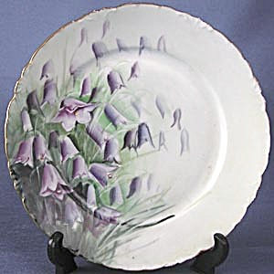 Vintage Rosenthal Hand Painted & Signed Harebell Plate