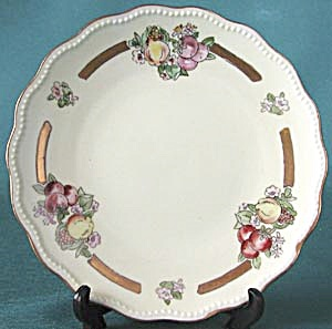 Limoges Arts & Crafts Hand Painted Signed Fruit Plate